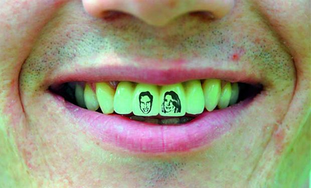 Teeth Tattoo